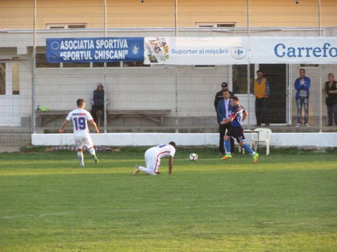 Replica excelenta data de Sportul Chiscani in fata celor de la FCSB 2