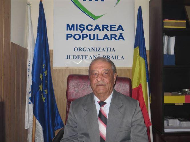 Primarul comunei Ciocile, Costica Marchidanu, va candida din partea Miscarea Populara