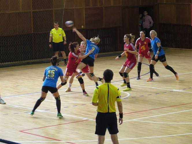 HC Dunarea victorie la pas in meciul cu Sebes Alba