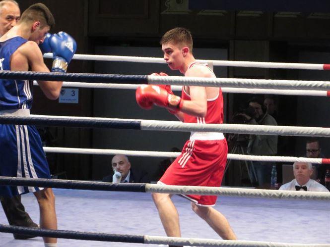 Robert Jitaru s-a calificat in finala Campionatului European de box U 22