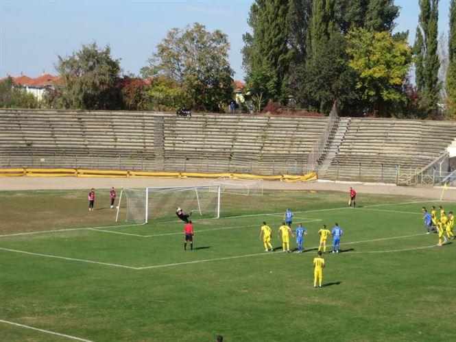 Dacia Unirea joaca duminica in deplasare la AFC Hermannstadt