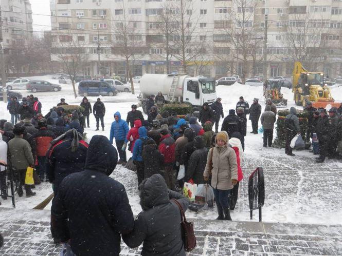 Viscolul a afectat si manifestarile de Boboteaza