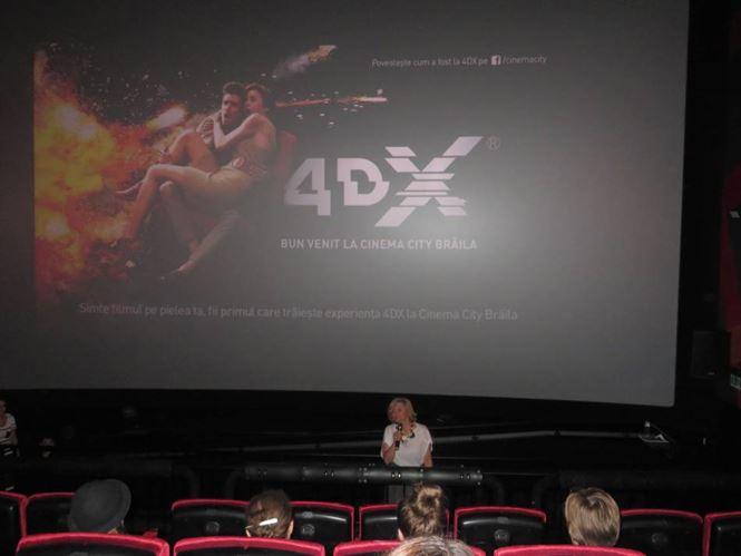 Cinema 4DX la Cinema City Braila