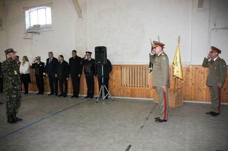 ÎNAINTAREA ÎN GRADUL DE GENERAL DE BRIGADĂ A COMANDANTULUI GARNIZOANEI BRĂILA