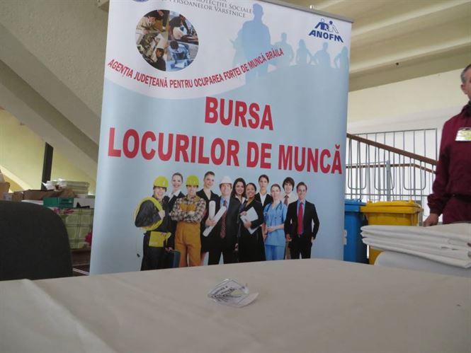 AJOFM Braila organizeaza Bursa locurilor de munca pentru absolventi