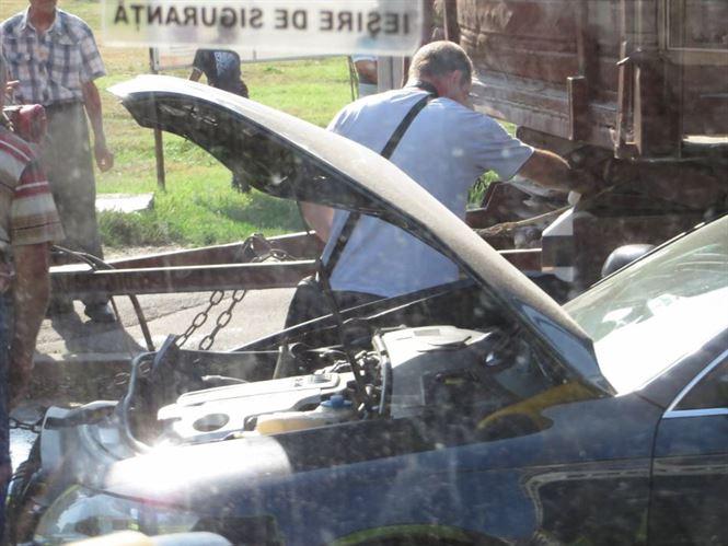 Galerie foto: Accident in zona Bariera