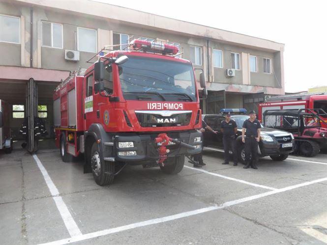 Ziua pompierilor marcata la ISU Braila