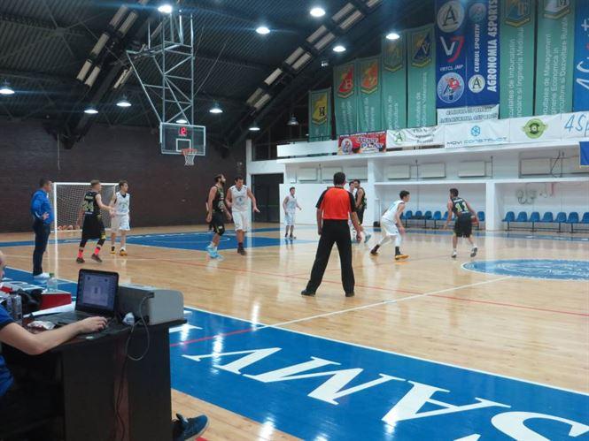 Cuza Sport Braila lider detasat in Liga 1 de baschet masculin
