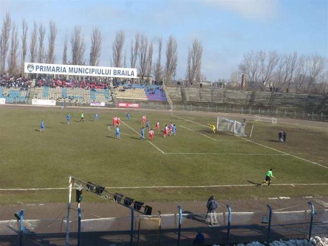 Dacia Unirea a inceput sezonul de primavara cu o victorie in fata celor de la UTA