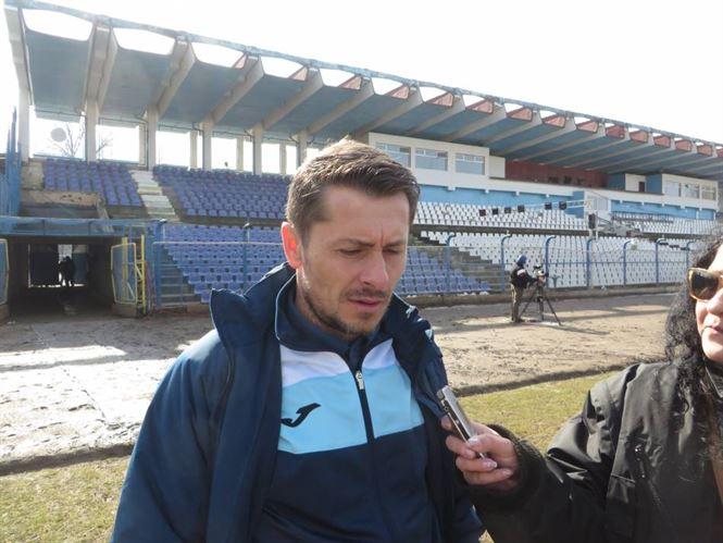 Declaratii Alin Panzaru si Laurentiu Rosu la finalul meciului Dacia Unirea - UTA 2-1