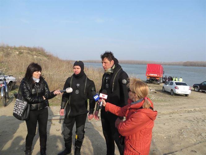Video: Declaratiile scafandrilor care au gasit masina scufundata in Dunare