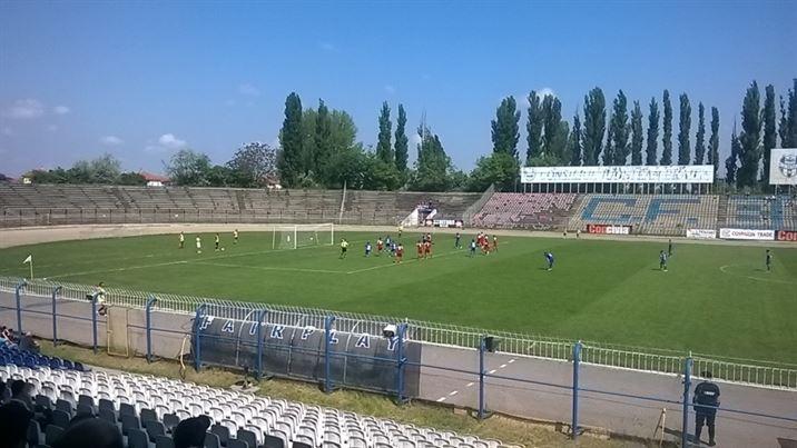 Ionescu a deschis scorul din penalty