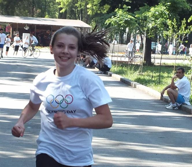 Iulia Banaga, locul 14 la FOTE 2015
