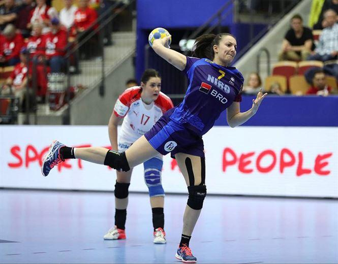 Eliza Buceschi principala marcatoare a Romaniei in meciul cu Danemarca