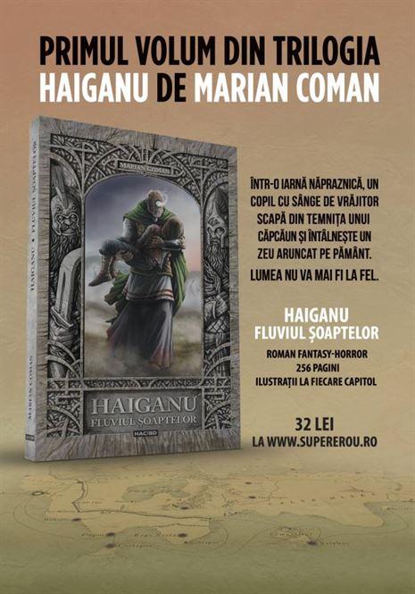 Scriitorul Marian Coman isi lanseaza noul volum si la Braila