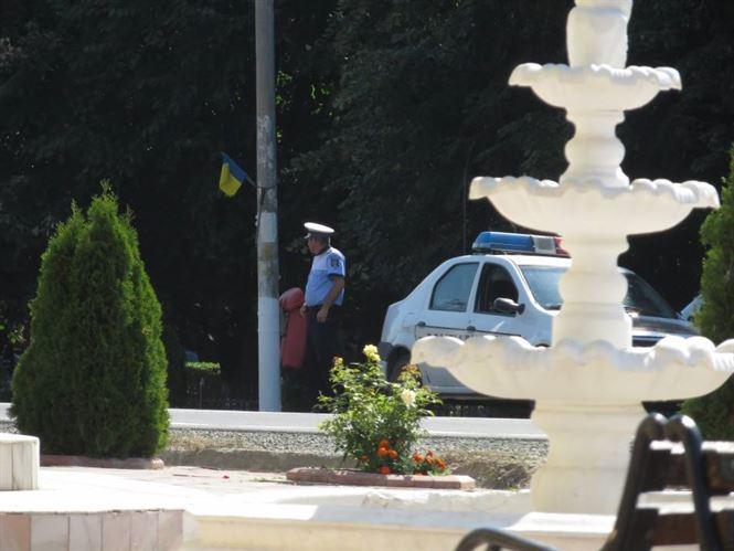 Politia braileana in actiune