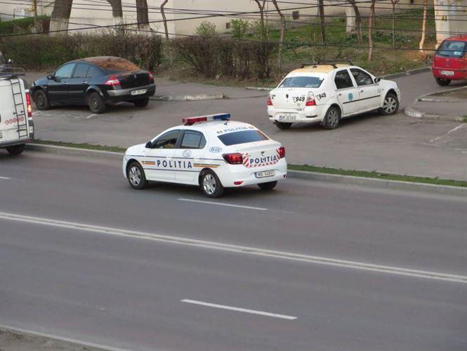 Politistii actioneaza zilnic pentru siguranta cetateanului