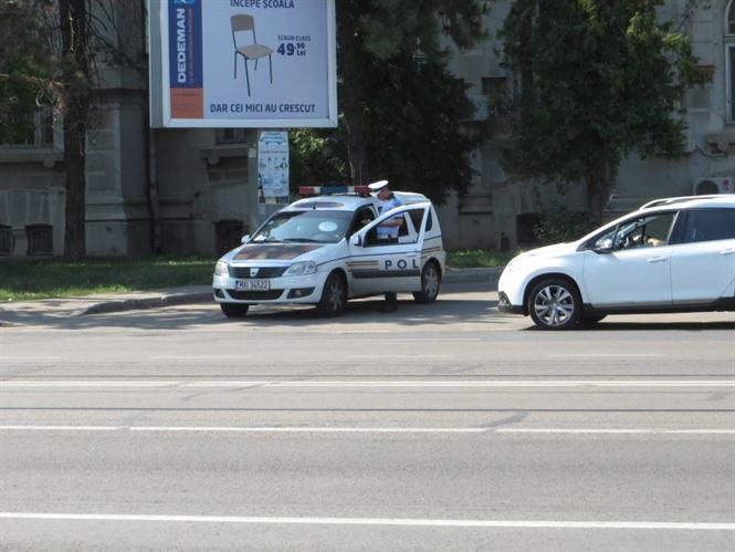Politistii au verificat 113 autovehicule aflate in trafic