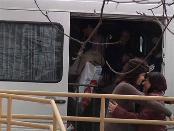 Primul lot de refugiati a ajuns la Galati