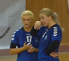 Ramona Farcau si Raluca Irimia continua la HC Dunarea