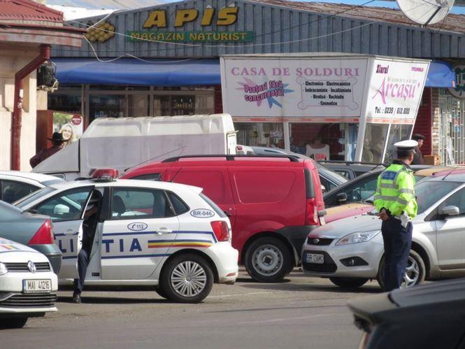 Razii de amploare ale politistilor braileni