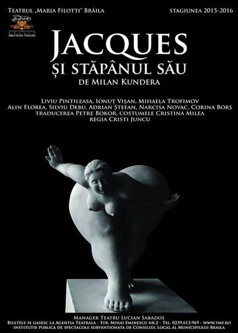 Reluarea stagiunii la Teatrul Maria Filotti Braila