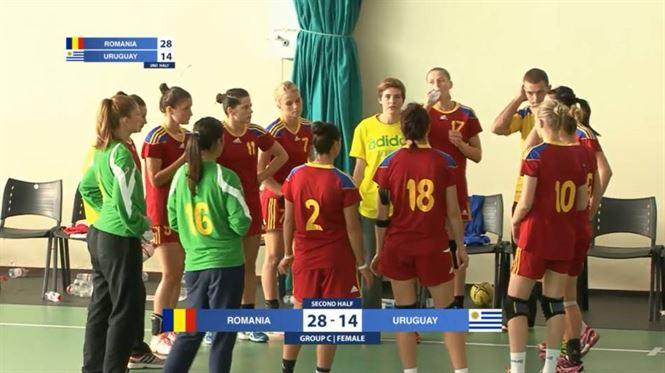Romania a invins Uruguay cu 32-15 (13-6)
