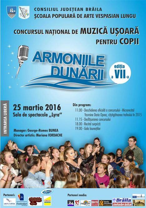 [SPA] Afis Concurs Armonii 2016