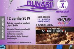 """Înscrieri la Concursul de muzică ușoară """"Armoniile Dunării"""""""