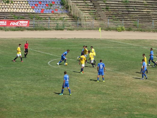 Sambata de la ora 11.00, Dacia Unirea primeste vizita celor de la Sportul Snagov