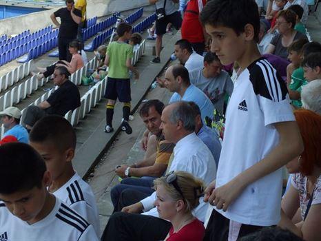 Simionescu a urmarit din tribuna semifinalele si finalele Cupei Stars