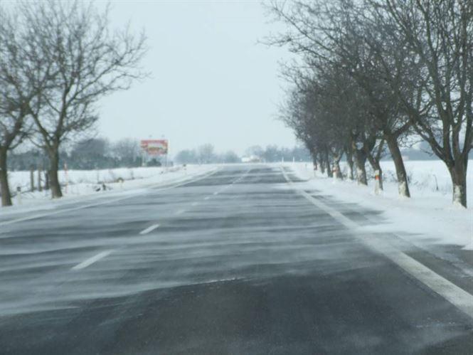 Situatia drumurilor judetene si nationale din Braila la orele pranzului