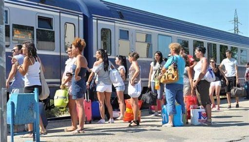 Trenurile Soarelui spre Litoral in perioada estivala
