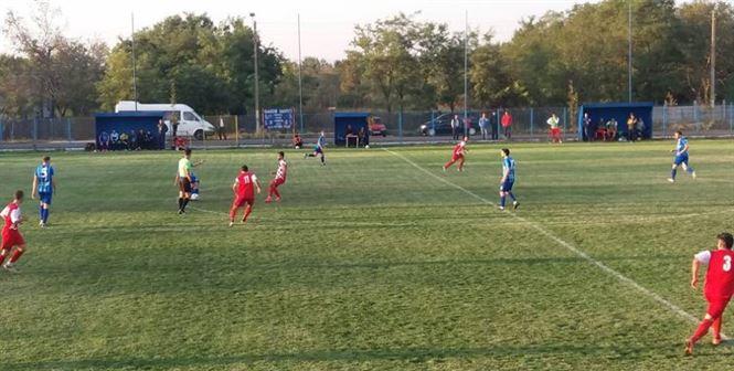Victoria Traian a marcat primul gol din Liga a 3-a in deplasarea de la Tulcea