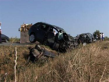 Patru braileni decedati intr-un accident rutier in Vrancea