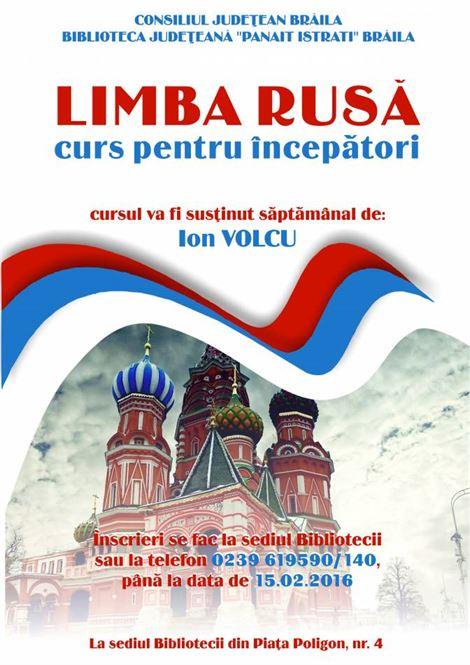 Cursuri gratuite de limba rusa