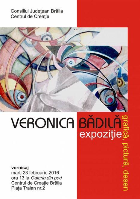 afis expozitie Galeria din Pod Badila Veronica