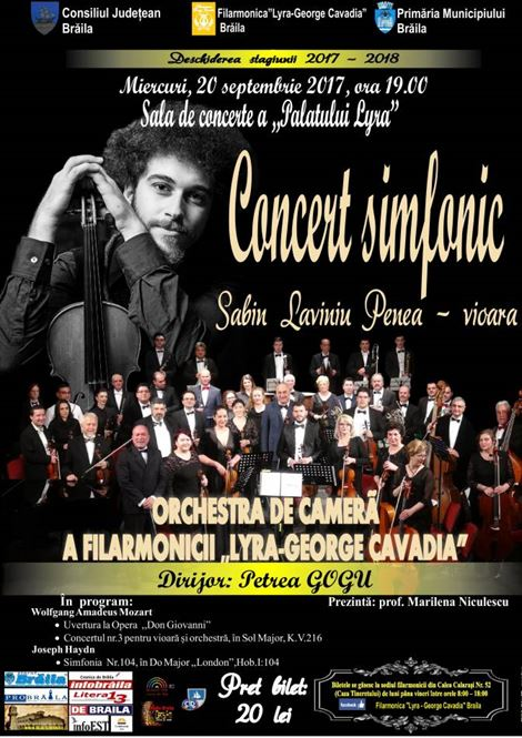 Concert Simfonic - Muzica baroca