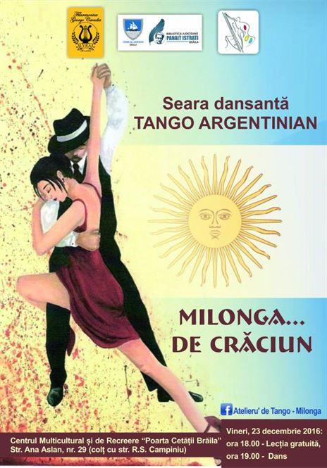 Seara dansanta de Tango Argentinian