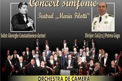 Concert simfonic la Teatrul Maria Filotti