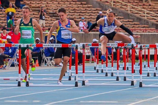 Braileanul Alexandru Iconaru, locul 5 la campionatul mondial de atletism pentru juniori II