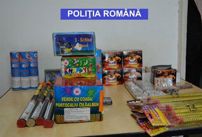 articole pirotehnice confiscate (2)