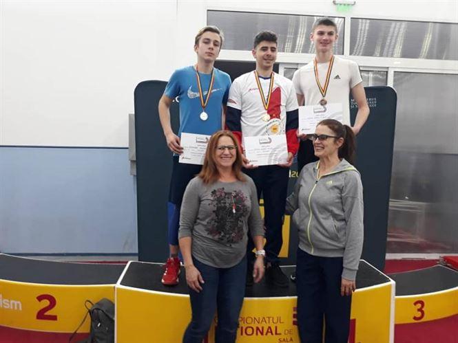 Patru medalii pentru atleții juniori brăileni