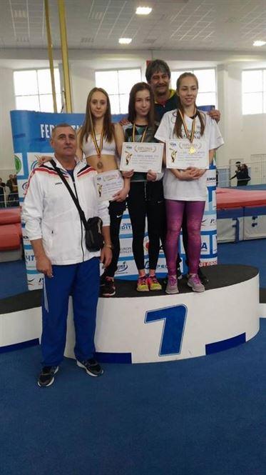 Sase medalii pentru atletii braileni la campionatele nationale de juniori 3