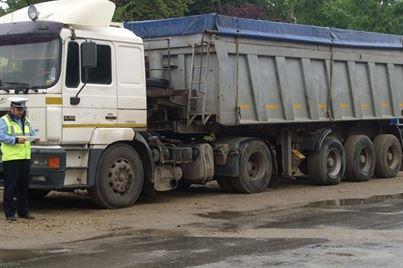 Peste 13 tone de porumb confiscate de politisti