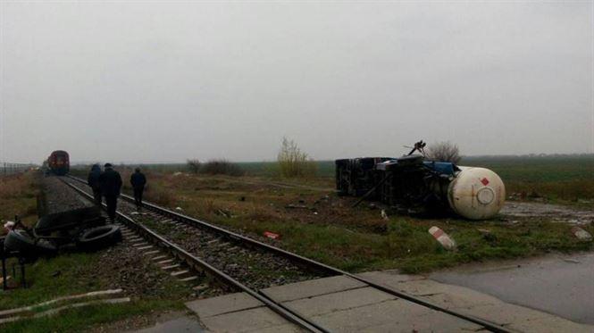Accident feroviar in apropiere de Bucuresti. In tren se aflau si calatori din Braila
