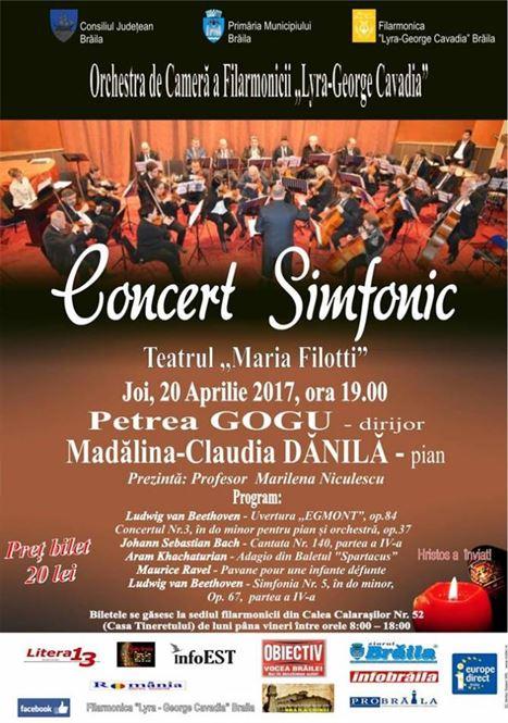 Concert Simfonic cu ocazia Sfintelor Sarbatori Pascale