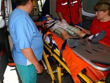 Copil de 6 ani accidentat pe DN2B