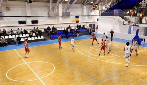 Cuza Sport Brăila învinsă la 86 de puncte la CSO Voluntari