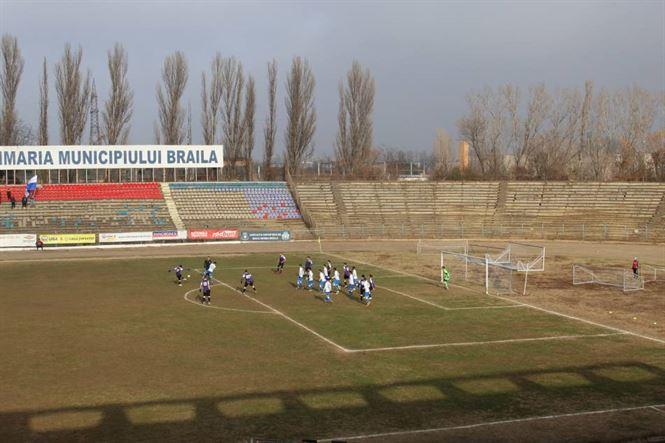 Dacia Unirea Brăila a încheiat anul 2018 cu o victorie cu 2-0